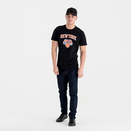 New York Knicks Team Logo Black Tee