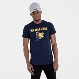 Indiana Pacers – T-Shirt mit Teamlogo – Marineblau