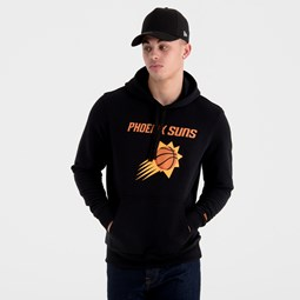 Sudadera estilo pulóver Phoenix Suns Team Logo, negro