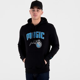 Orlando Magic Team Logo Black Pullover Hoodie