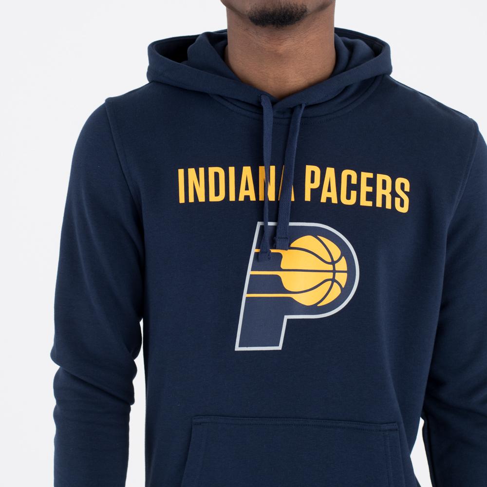 Indiana Pacer – Kapuzenpullover mit Teamlogo – Marineblau