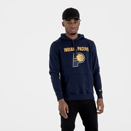 Indiana Pacers Team Logo Navy Pullover Hoodie