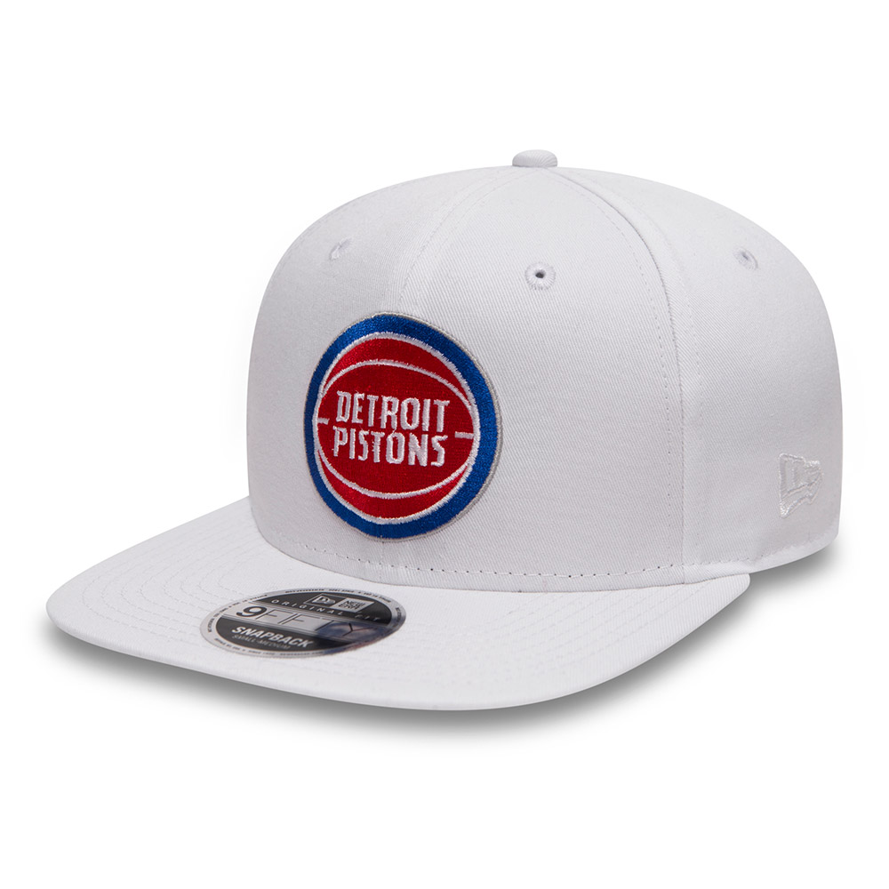 9FIFTY Snapback – Detroit Pistons –  Classic White Original Fit
