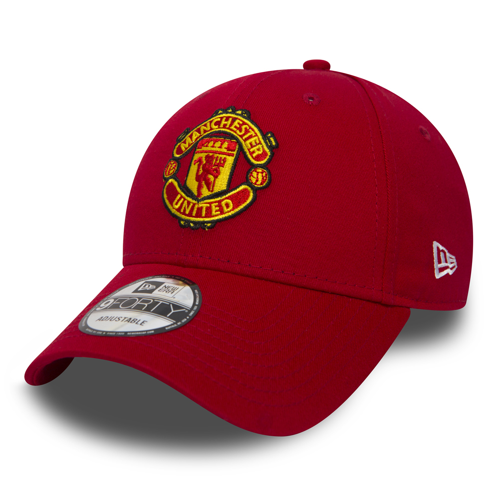 9FORTY – Manchester United – Essential – Kappe in Rot