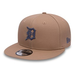 timeless design 09eff d14a2 Detroit Tigers Essential 9FIFTY Camel Snapback