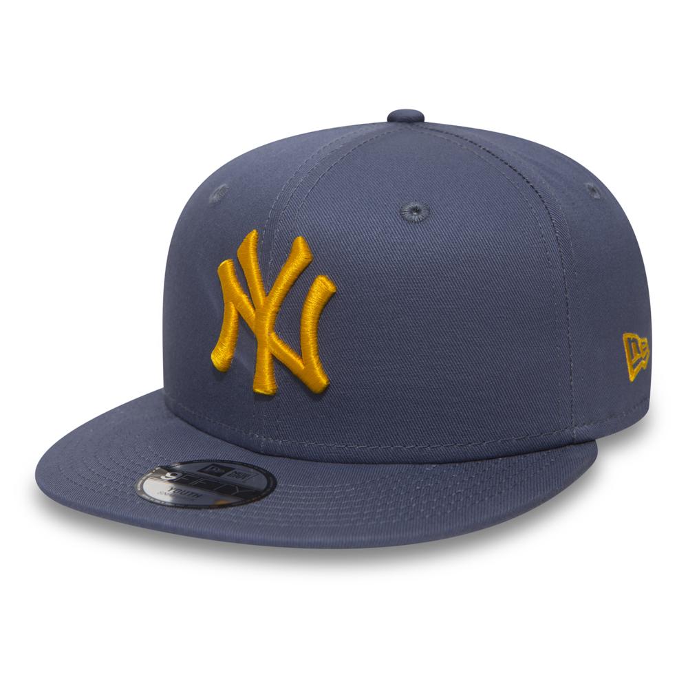 New York Yankees Essential 9FIFTY bleu enfant avec languette de réglage