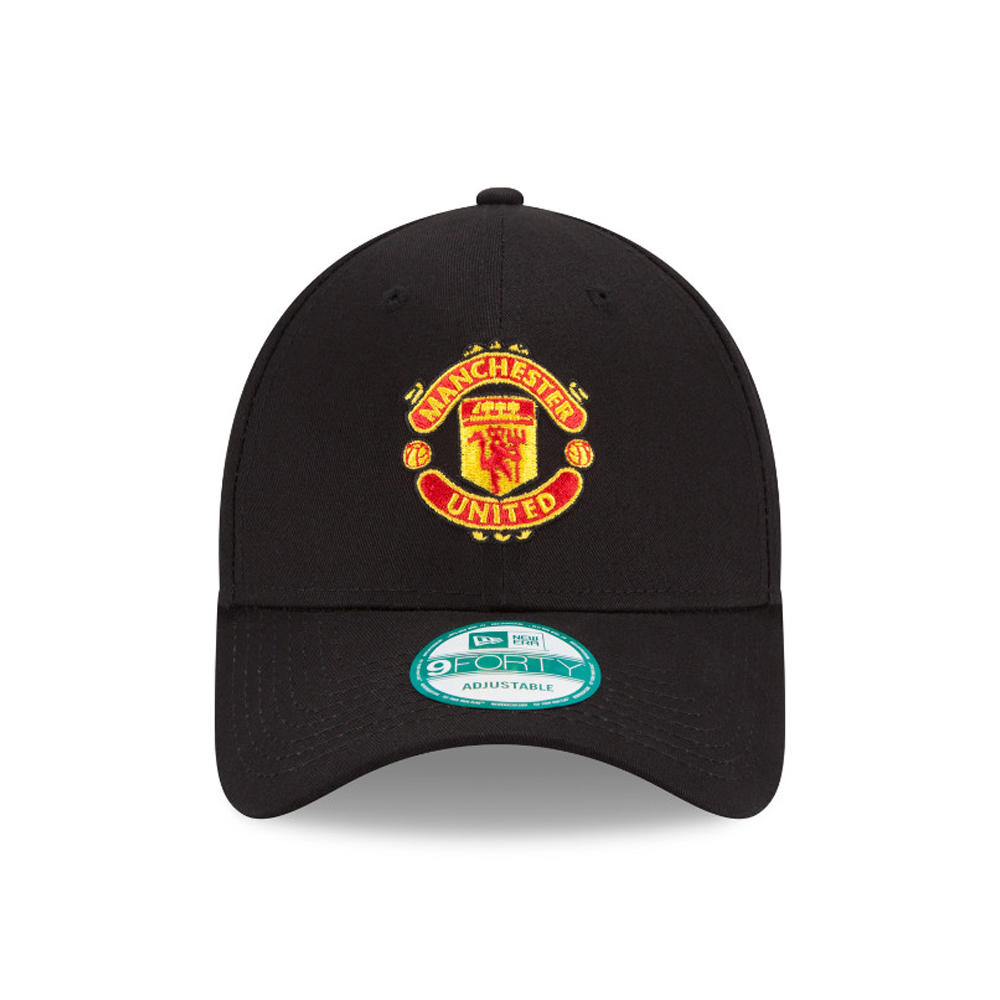 9FORTY – Manchester United – Essential – Kappe in Schwarz