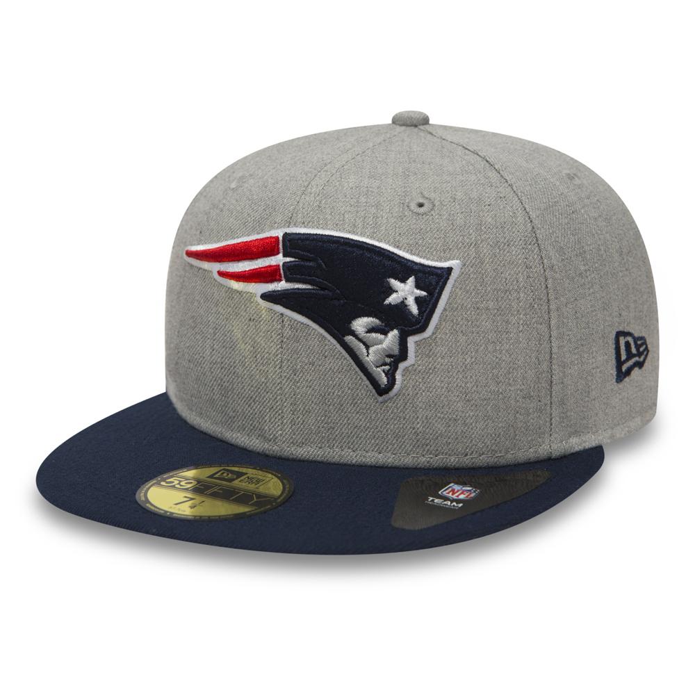 59FIFTY ‒ New England Patriots ‒ Grau meliert