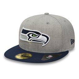 Seattle Seahawks 59FIFTY gris chiné