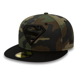 Superman Hero 59FIFTY, woodland camo