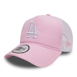 Los Angeles Dodgers Oxford Pink A Frame Trucker
