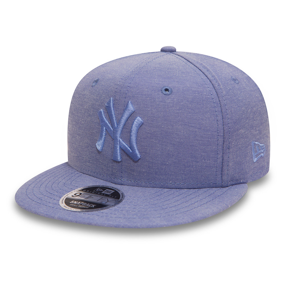 9FIFTY Snapback ‒ New York Yankees ‒Original Fit ‒ Oxford-Himmelblau