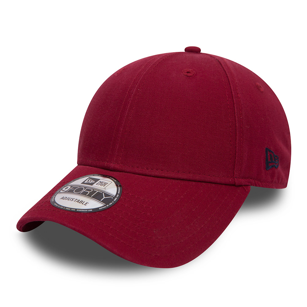 New Era Clean 9FORTY rouge cardinal