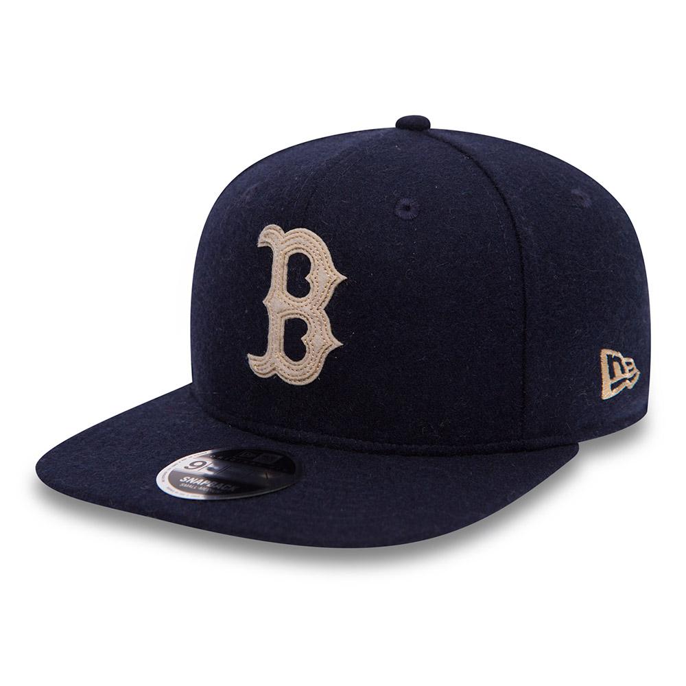 Boston Red Sox Melton Original Fit 9FIFTY Snapback bleu marine