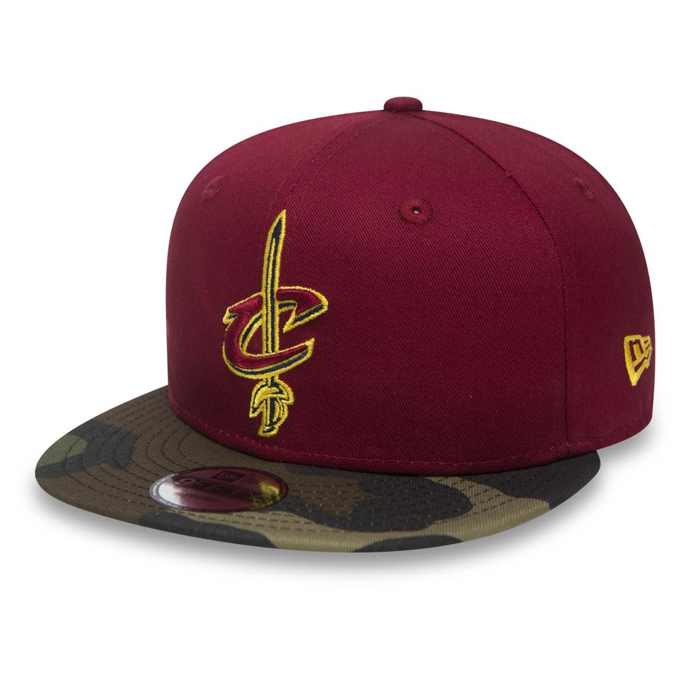 Cleveland Cavaliers Team 9FIFTY Snapback mimetico bambino