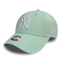 New York Yankees Jersey 9FORTY mujer, verde mint