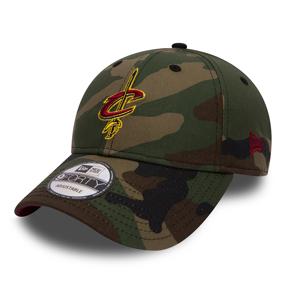 Cleveland Cavaliers Camo Team 9FORTY 2a943b61541c