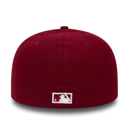 New York Yankees Chain Low Profile Cardinal Red 59FIFTY