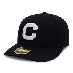 Cleveland Indians Chain Low Profile 59FIFTY, azul marino