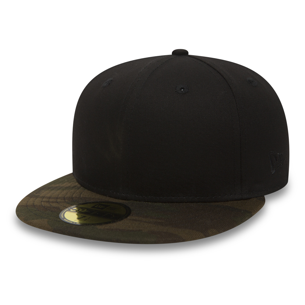 New Era 59FIFTY noir et jersey camouflage