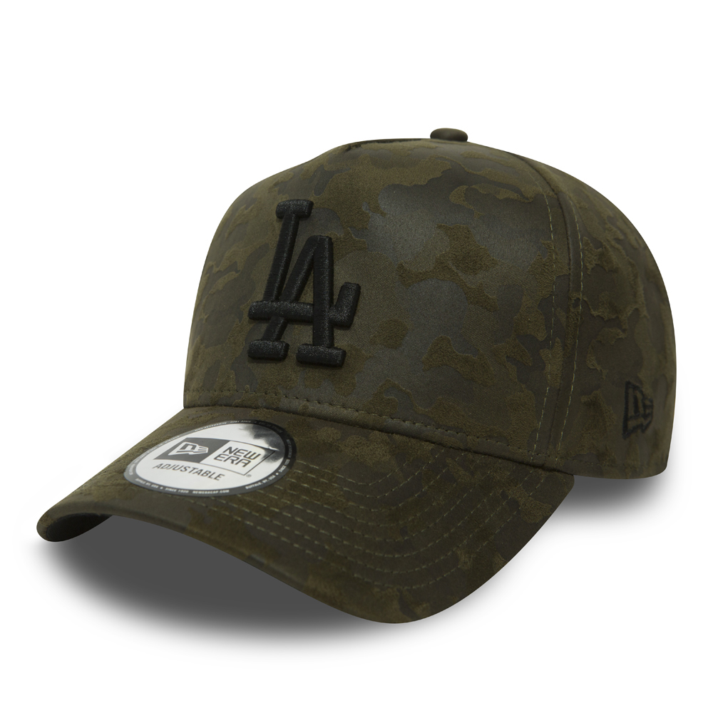 Los Angeles Dodgers Suede Camo A Frame 9FORTY