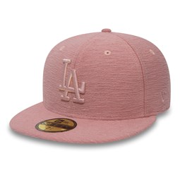 Los Angeles Dodgers Jersey Slub Pink 59FIFTY