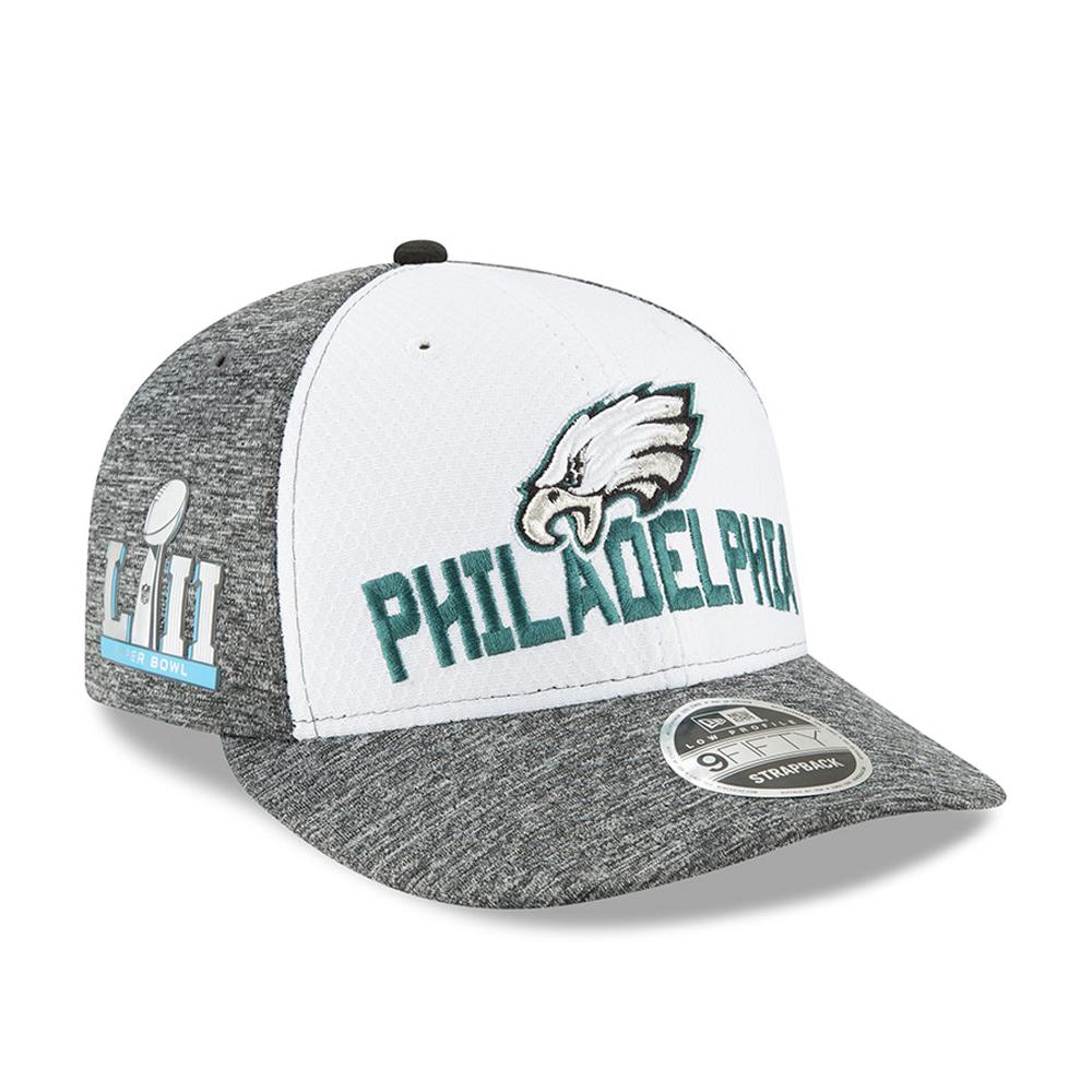 NFL Super Bowl LII New Era 39THIRTY Stretch Fit Cap Hat Headwear