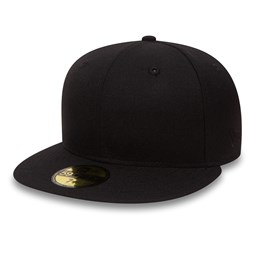 New Era Flag Plain Black 59FIFTY