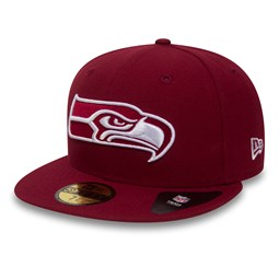 Seattle Seahawks Cardinal Red 59FIFTY