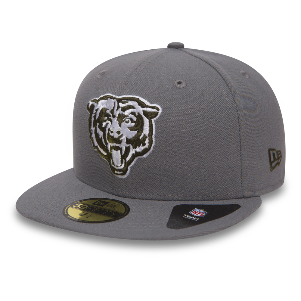 43b5dffb598f8e Chicago Bears Storm Grey 59FIFTY