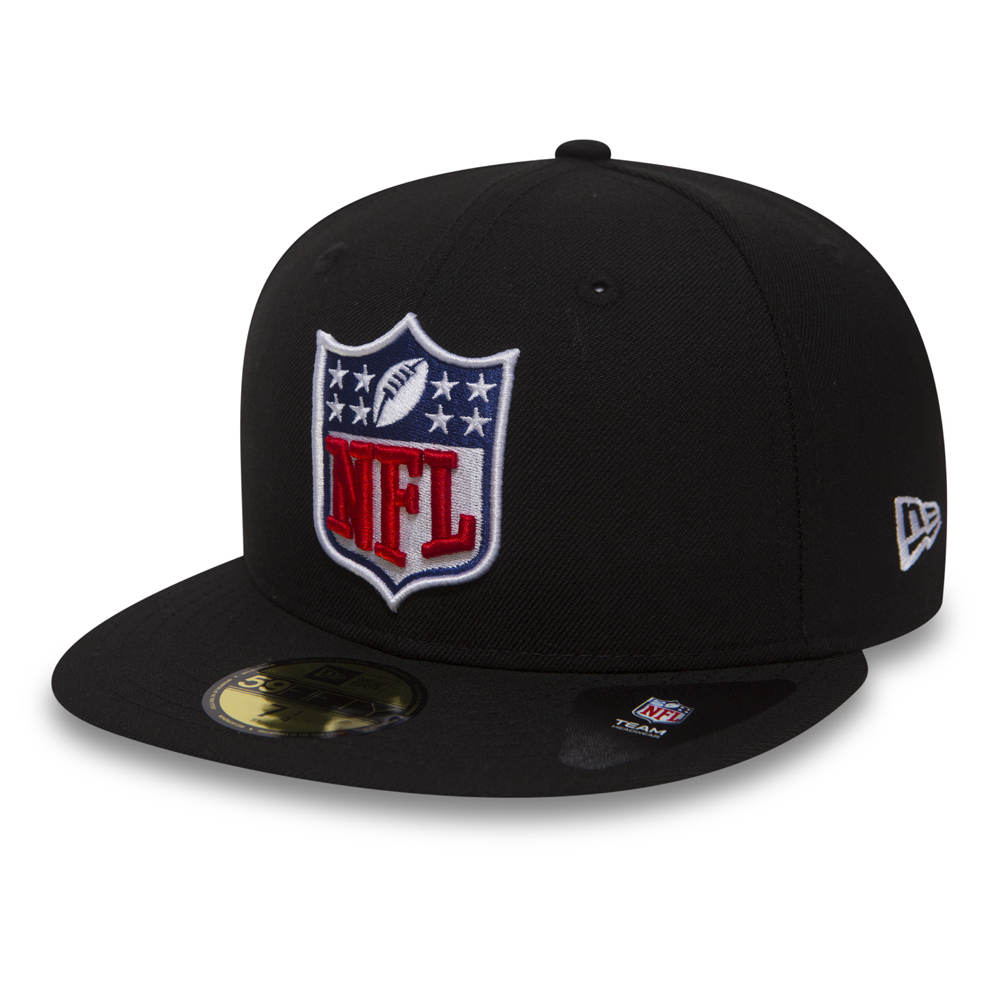 NFL Logo 59FIFTY, negro