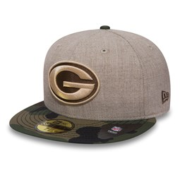 Green Bay Packers 59FIFTY avoine et camouflage