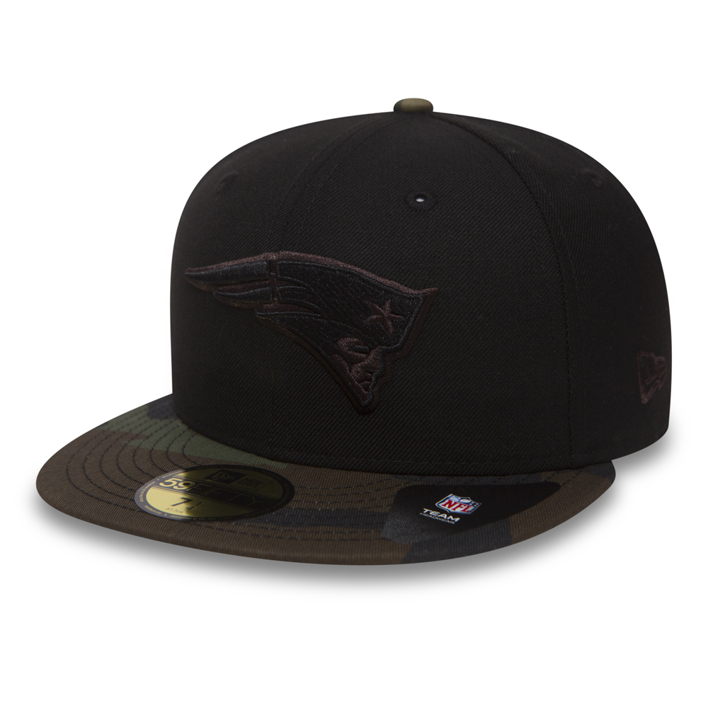 New England Patriots 59FIFTY noir et camouflage
