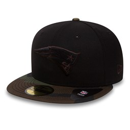 New England Patriots Black and Camo 59FIFTY