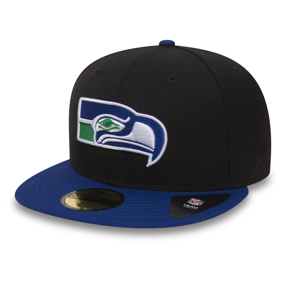 59FIFTY – Seattle Seahawks – Schwarz