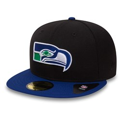 Seattle Seahawks 59FIFTY noir