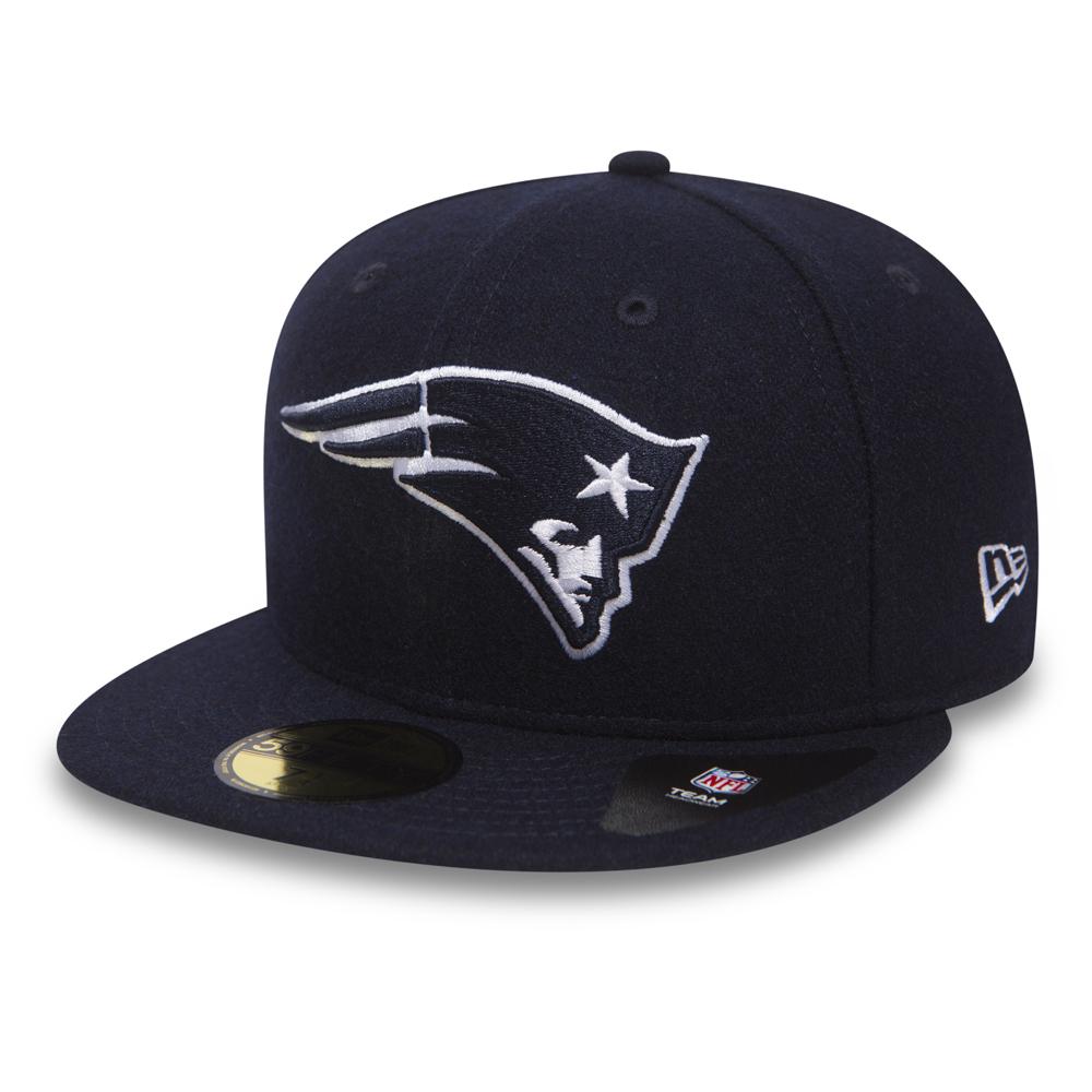 New England Patriots Melton 59FIFTY bleu marine