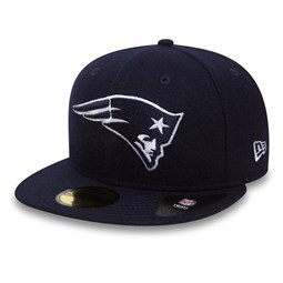 New England Patriots Melton 59FIFTY bleu marine
