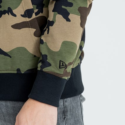 Los Angeles Dodgers Camo Pullover Hoodie