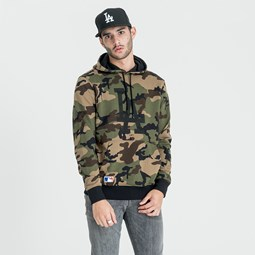 Los Angeles Dodgers Camo Pullover Hoody