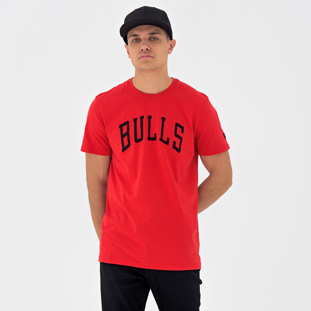 T-shirt rouge Chicago Bulls Pop Logo