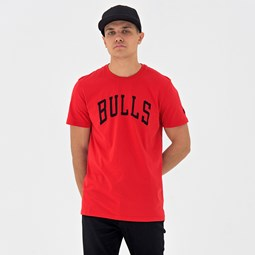 Chicago Bulls Pop Logo Red Tee