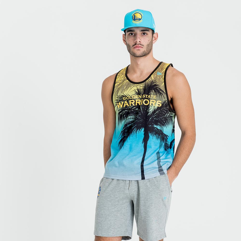 Camiseta de tirantes Golden State Warriors Coastal Heat