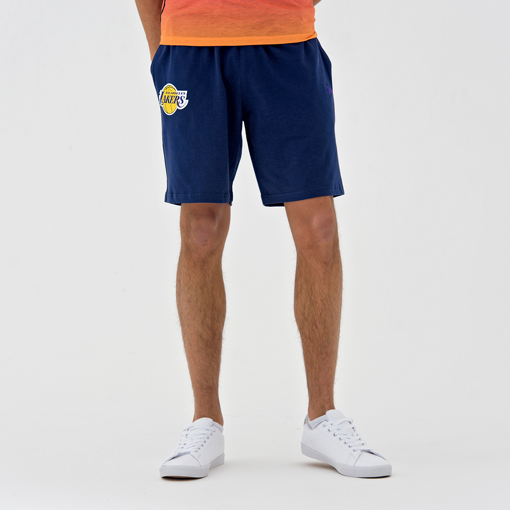 Pantalones cortos Los Angeles Lakers Coastal Heat, azul marino