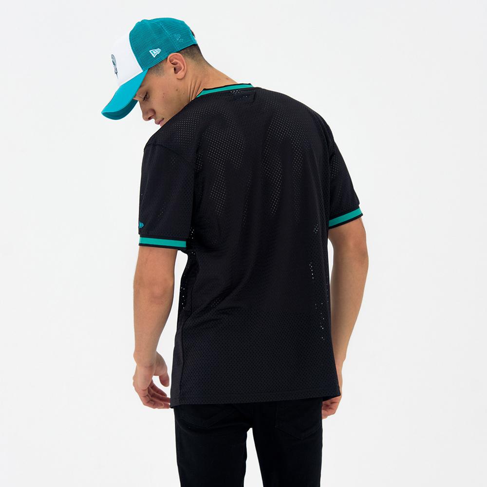 T-shirt Miami Marlins Coast to Coast Mesh noir