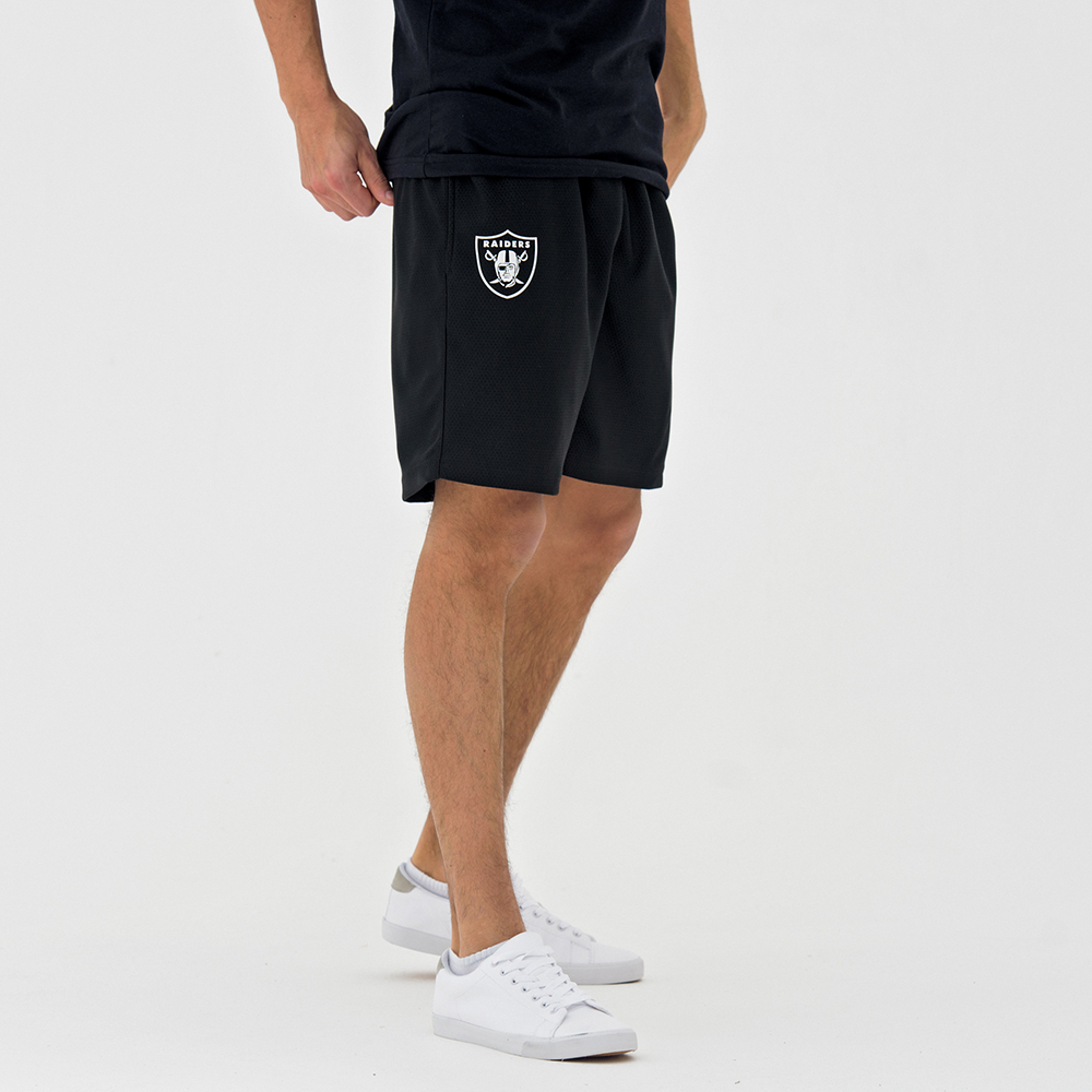 Oakland Raiders – Dry Era – Schwarze Shorts