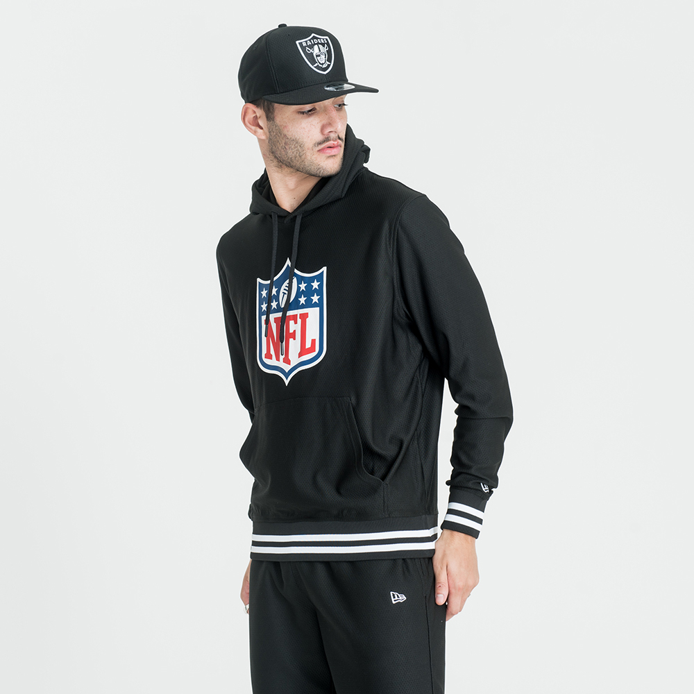 Sweat à capuche NFL Logo Dry Era noir