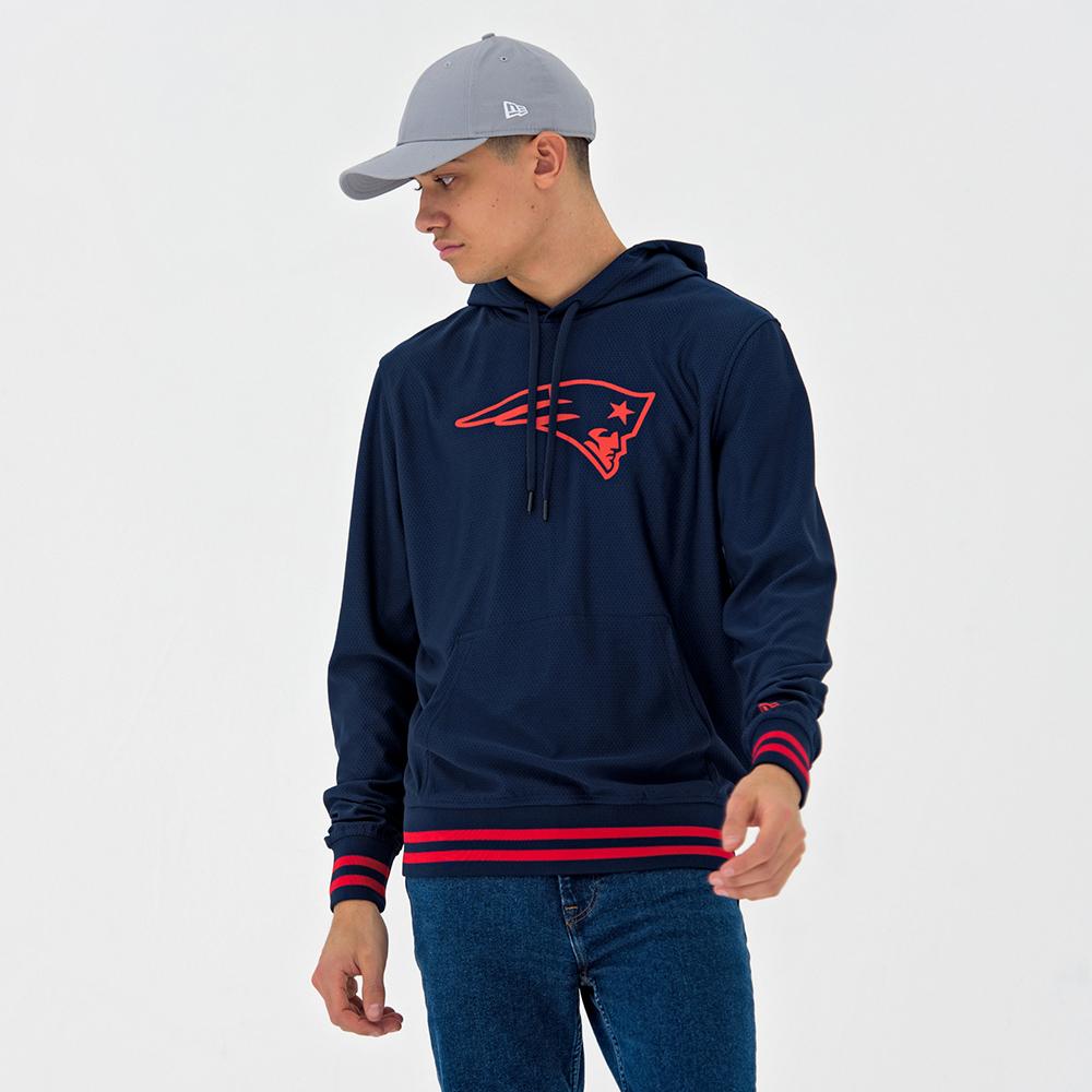 7911e1c0 New England Patriots Dry Era Blue Pullover Hoodie | New Era