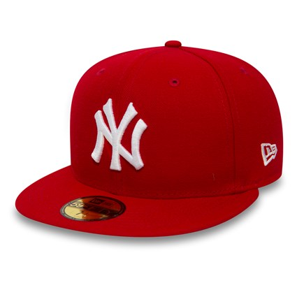 NY Yankees Essential Red 59FIFTY  87aac164450