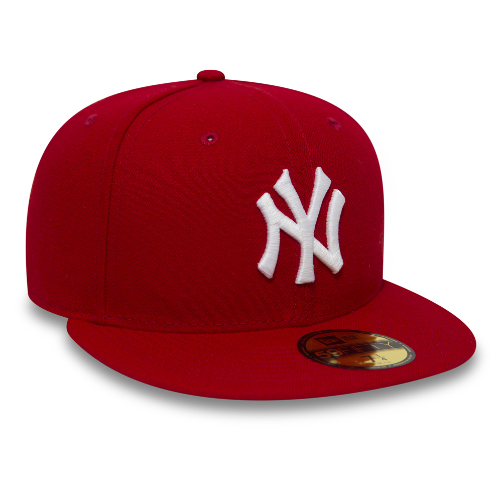 8ca900d1246b4 ... rojo NY Yankees Essential 59FIFTY